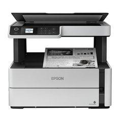 Multifuncional Epson EcoTank M2170 Tanque de Tinta Monocromática, Wi-Fi Direct, Ethernet, Fax, ADF - - Magazine Lojamagalu1000