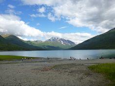 Eklutna Lake , Chugach State Park, Alaska, PleinAirEnVR