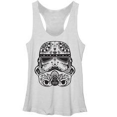 Star Wars Women's - Ornate Stormtrooper Racerback Tank