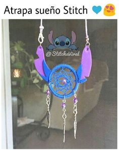 DISNEY PARKS STITH MOVING ARMS DOUBLE JOINTED KEYCHAIN NEW