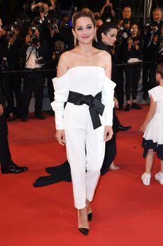 Cannes 2018 Style File: Marion Cotillard in Adam Selman and Armani Privé | Tom + Lorenzo