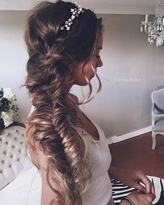 Wedding Updo Hairstyles for Long Hair from Ulyana Aster_22 ❤ See more: http://www.deerpearlflowers.com/wedding-updo-hairstyles-for-long-hair-from-ulyana-aster/2/