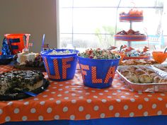 From our Gator party for the Tennessee game