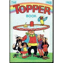 New Listing Started TOPPER COMIC BOOK ANNUAL UK COMIC BOOK 1968 TILLEYS OF SHEFFIELD £25.00