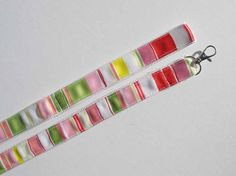 Striped Dog Leash by CookiesDogHouse on Etsy