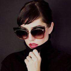 e3a22c7c88fd9 Fashion   more Big Sunglasses, Sunglasses Women, Luxury Sunglasses, Retro,  Glasses Online