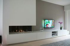 what would offset look like its a practical solo for all the tech - Top Trends Home Living Room, Home Fireplace, Fireplace Design, Living Room Wall Units, House Interior, Small Room Bedroom, Modern Fireplace, Interior Design Living Room, Interior Design