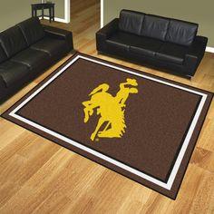 University of Wyoming (Cowboy-Horse) 8x10 Rug