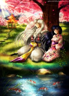 120 Best kagome and sesshomaru images in 2019 | New