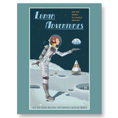 Lunar Postcard