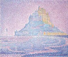 Paul Signac (1863-1935) Mont Saint-Michel. Brume et soleil  Price realised  GBP 587,650 USD 1,072,461 Estimate GBP 300,000 - GBP 450,000 (USD 547,500 - USD 821,250)