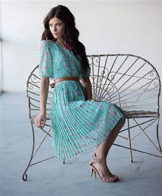 Mint Kiera Dress by Mikarose | Trendy Modest Dresses | Mikarose Spring 2014 Collection