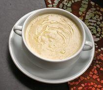 Cauliflower, Potato, and Cheddar Soup