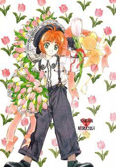 CLAMP, Madhouse, Cardcaptor Sakura, Cardcaptor Sakura Illustrations Collection 1, Sakura Kinomoto