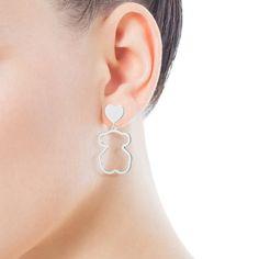 Drop Earrings, Jewelry, Fashion, Silhouettes, Earrings, Silver, Gold, Jewels, Moda