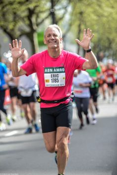 Finishing the Marathon Rotterdam...what a feeling...!