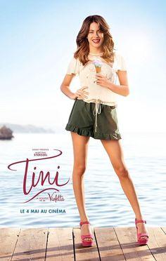 TINI LA NOUVELLE VIE DE #Violetta affiche avec Martina #TiniStoessel #TiniLeFilm