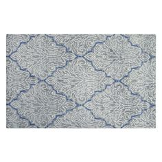 Basilica Chalk Rug featuring polyvore, home, rugs, swirl rug, designers guild rugs, diamond pattern rug, diamond rug and patterned rugs