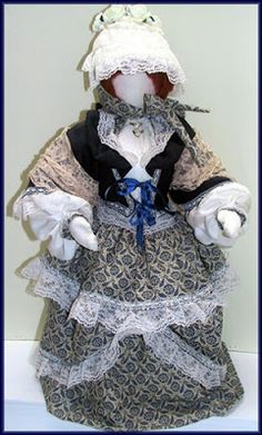 Victorian Dolls, Victorian Traditions, The Victorian Era, and Me: My Favorite Victorian Lady Doll Design Needs A Name