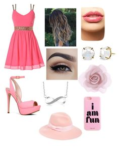 Untitled #28 by bvb-aubrey on Polyvore featuring polyvore fashion style ALDO Irene Neuwirth August Hat Accessorize LASplash clothing