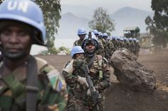 Tanzanian special forces members part of the UN peacekeeping force in Democratic Republic of the Congo x Most Scary Picture, Keep The Peace, Military Officer, Defence Force, Security Service, British Army, Special Forces, Military History
