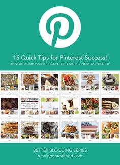 How to improve your Pinterest profile, gain followers and increase traffic to your blog in just minutes a day!