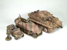Tiger I and related vehicles