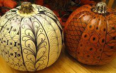 Doodled Pumpkins-02 by Paint Chip, via Flickr