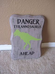 Our Crazy Life: Finished the boys Dinosaur Room Big Girl Rooms, Baby Boy Rooms, Baby Boys, Bedroom Themes, Nursery Themes, Bedroom Ideas, Dinosaur Party, Dinosaur Dinosaur, Jurassic Park Party