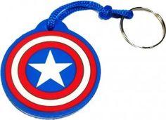 Chaveiros de super-heróis