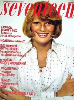 Seventeen Magazine Covers 1970s    Patti Hansen