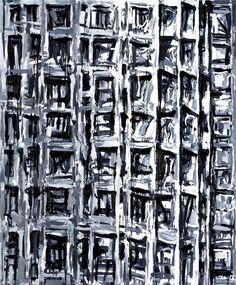 Award winning work Calcutta, oil on canvas, 240 x 200 cm. Monochrome Color, New Words, Abstract Landscape, Holland, Oil On Canvas, City Photo, It Works, Photo Wall, Artwork