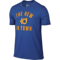 Nike Men's Dry KD The Bay Graphic Basketball T-Shirt, Size: Medium, Blue