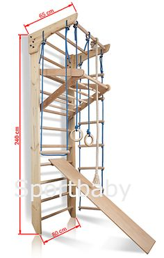 Swedish Ladder Wall Bars Gymnastic Children Wooden Kids Sport Gym Home Workout for sale online Home Made Gym, Diy Home Gym, Gym Room At Home, Best Home Gym, Small Space Interior Design, Home Gym Design, Gymnastics Room, Espalier, Home Gym Garage