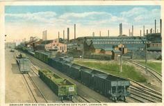 American Iron & Steel Co. Rail Cars Lebanon PA Pennsylvania