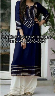 Sleeves Designs For Dresses, Dress Neck Designs, Stylish Dress Designs, Pakistani Fashion Party Wear, Indian Fashion Dresses, Indian Outfits, Simple Kurta Designs, Kurta Designs Women, Simple Pakistani Dresses