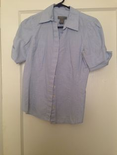 Ann Taylor size 2 pinstripe button-down shirt