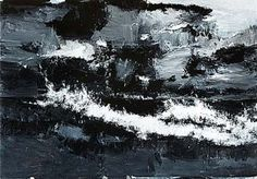 John Virtue: The Sea: 26 April – 24 August 2014 - Landscape Art, Landscape Paintings, Landscapes, Painter Artist, Seascape Paintings, Watercolor Paintings, A Level Art, Sense Of Place, Art Themes