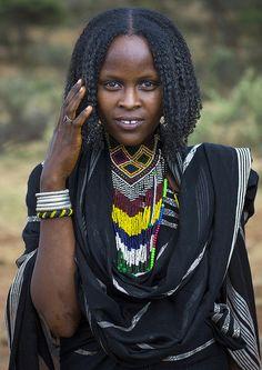 Borana Tribe Woman, Yabelo, Ethiopia. By Eric Lafforgue
