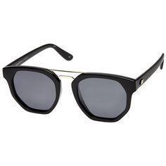 Le Specs Thunderdome Black/Gold