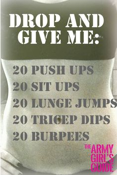 9 Best Army Workouts images in 2018 | Army workout, Military