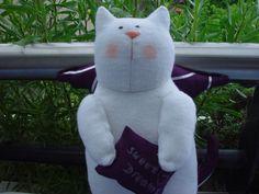Spielzeug - Guardian Cat - ein Designerstück von Monis-Puppenkiste bei DaWanda