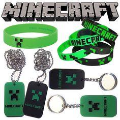 @Nicole Novembrino Novembrino Lamarche  Minecraft party favors