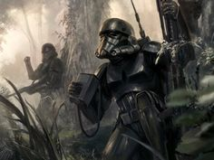 Troopers in the forest