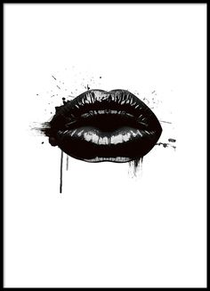 Fashion Lips, poster in group poster / sizes and forma .- Fashion Lips, poster in der Gruppe Poster / Größen und Formate / bei D… Fashion Lips, poster in the group Poster / sizes and formats / at Desenio AB - Black And White Posters, Black And White Wall Art, Prada Poster, Chanel Poster, Chanel Print, Groups Poster, Poster Sizes, Gold Poster, Images D'art