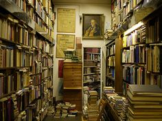great old bookstore in downtown Helsinki by dorq, via Flickr
