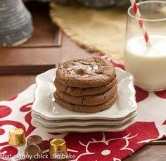 Caramel Brownie Cookies Recipe