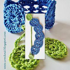 Ravelry: SPRING Boho Wristband Bracelet pattern by Barbara Summers Crochet Jewelry Patterns, Crochet Stitches Patterns, Bracelet Patterns, Crochet Jewellery, Crochet Accessories, Crochet Belt, Crochet Bracelet, Crochet Earrings, Crochet Round