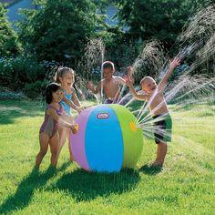 Ultimate Beach Ball� Sprinkler for $14.99 #littletikes