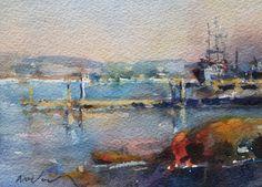 Jim McVicker  Watercolor 5x7